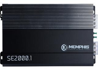 Amplificador Memphis Se2000.1d Clase D 1 Ohm 2000 Watts Max