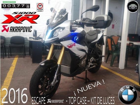 2016 Bmw Xr S-1000 Con Solo 3,700 Km, Nueva, Factura Origina