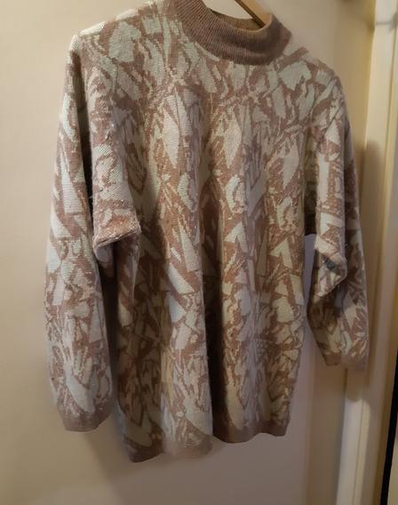 Sweater Pullover Mujer Vittoria Di Romani Impecable