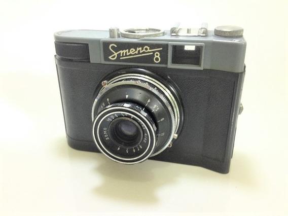 Câmera Antiga Smena 8 Fabricada De 1953 A 1971