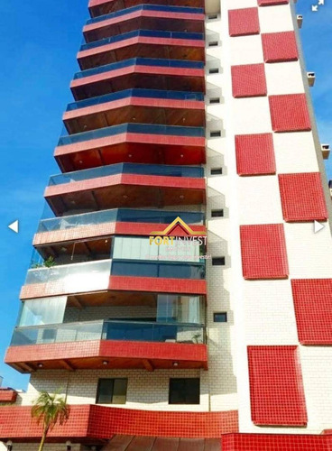 Apartamento À Venda, 87 M² Por R$ 340.000,00 - Canto Do Forte - Praia Grande/sp - Ap1645
