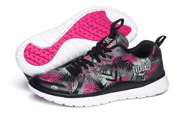 Zapatillas Everlast Mujer Running Gym Lady Crossfit - Olivos
