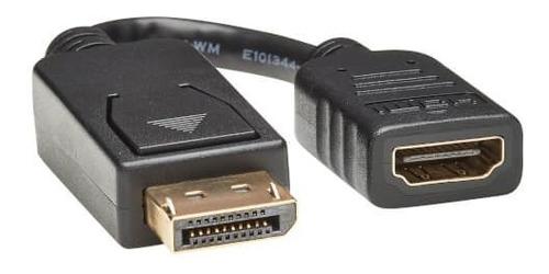 Imagen 1 de 2 de Cable Adaptador/convertidor Displayport A Hdmi Uhd 4k Tripp