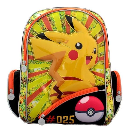Mochila Pokemon, Mochila Pikachu, Bp14 Mayoreo 20%