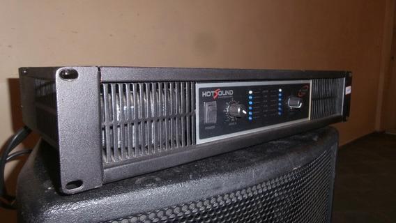 Mega Desconto - Amplificador De Potência Hotsound Hs-2500