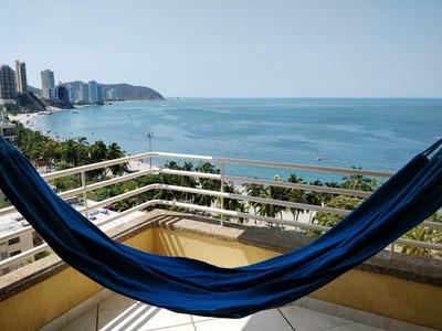 Apartamento Con Increíble Vista En El Rodadero - Santa Marta