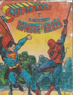 Superman Y Hombre Araña