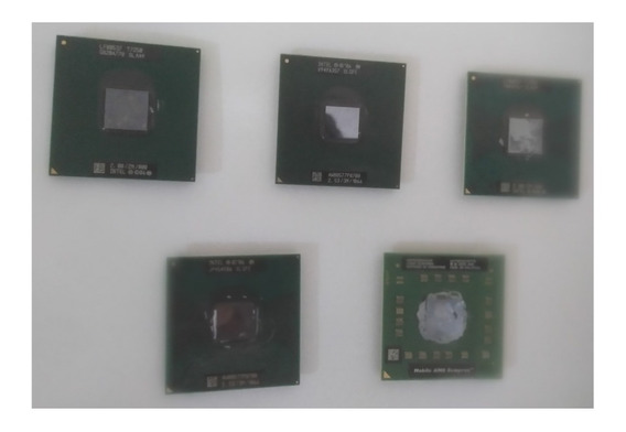 Kit Com 5 Processadores Para Notebook - Modelos Na Descrição