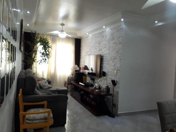 Apartamento De 69m2, Com 2 Dormitórios, Cozinha Planejada E 1 Dormitório Com Armários, À Venda Por R$ 260.000 - Jardim Ana Maria - Guarulhos/sp - Ap5700