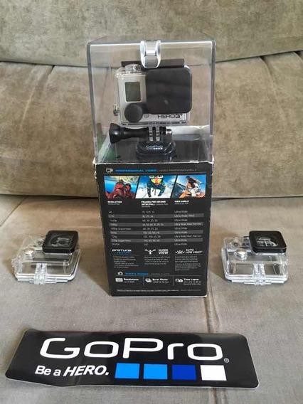 Gopro Hero 3+ Black Com Carregador Duplo E Baterias