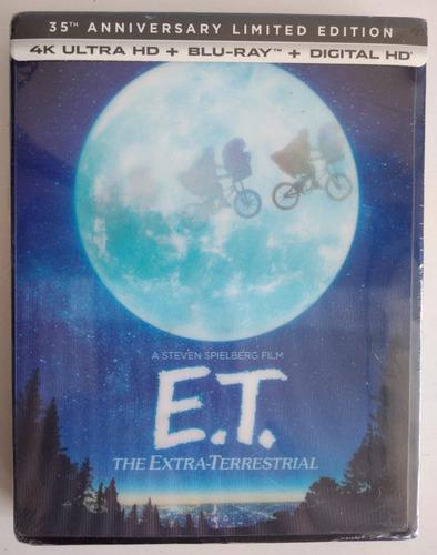 E.t. The Extra-terrestrial  Edición 35th Aniversario 4k