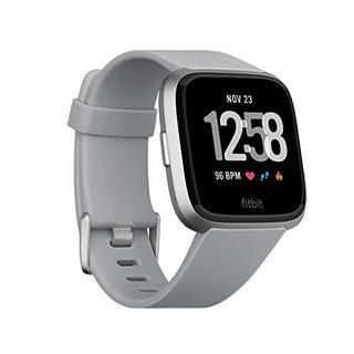 Fitbit Smartwatch Versa, Color Gris, Aluminio Reloj 6238