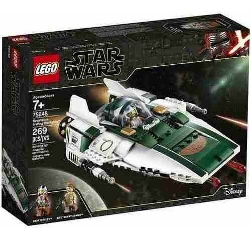 Lego 75248 Star Wars  A Wing Starfighter Da Resistencia