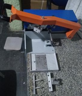 Máquina De Tampografia Manual Tcm8 Wutzl