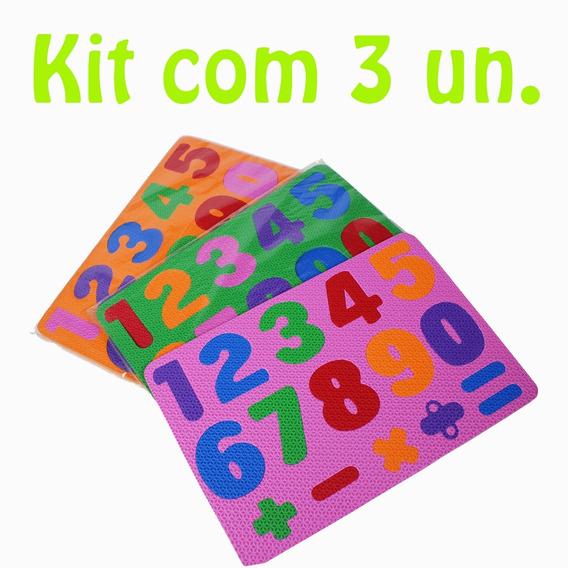 Kit Encaixe Os Números Em E.v.a. / Ciabrink (cód. 1087)