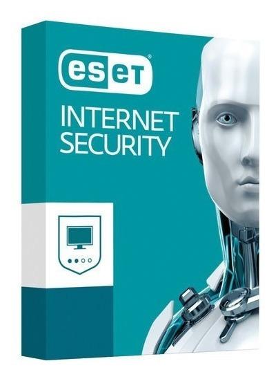 Licença Eset Internet Security 3pc 2 Anos Windows /mac