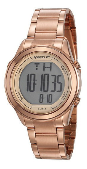 Relogio Speedo Feminino 15019loevre1 Digital Rose