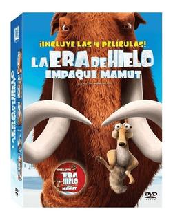 La Era De Hielo 1 - 4 Empaque Mamut Peliculas Dvd