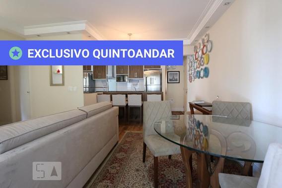 Apartamento No 7º Andar Com 2 Dormitórios E 2 Garagens - Id: 892961182 - 261182