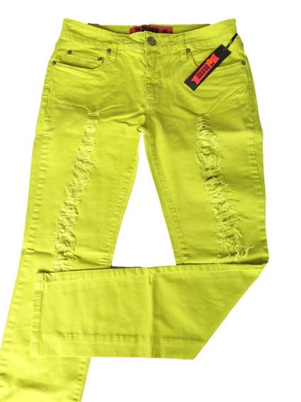 Calça Jeans Feminina Te Quiero Lemon Promoção 50% Off