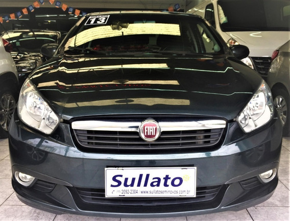 Fiat Grand Siena Attractive 1.4 Flex Gnv Ipva2020 Pago