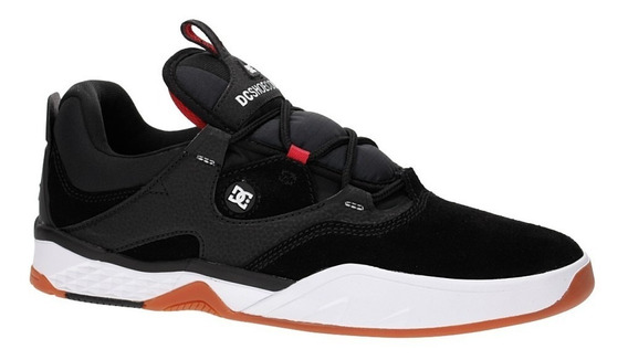 Zapatillas Dc Shoes Mod Kalis S Negro Rojo Coleccion 2020