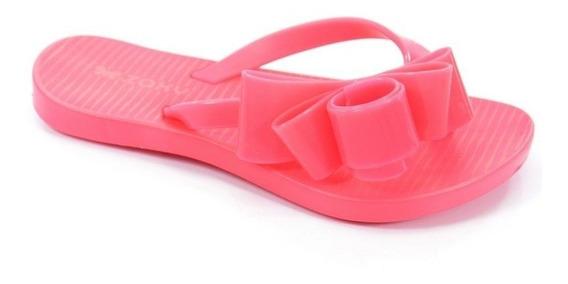 Chinelo Infantil Zaxy Fresh Glam Rosa Neon - 17326