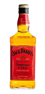 Whiskey Jack Daniels Fire Botella De Litro Whisky Bourbon