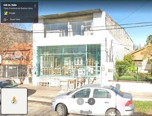 Imagen 1 de 14 de Excelente Local Sobre Av. Italia, Tigre Comercial