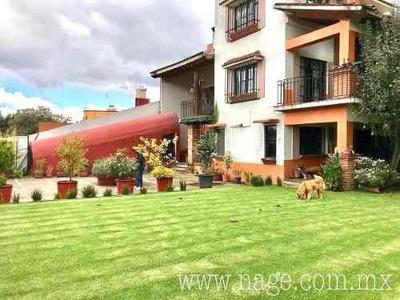 Hermosa Casa Ecológica Y Artesanal En Venta En Contadero, Cuajimalpa