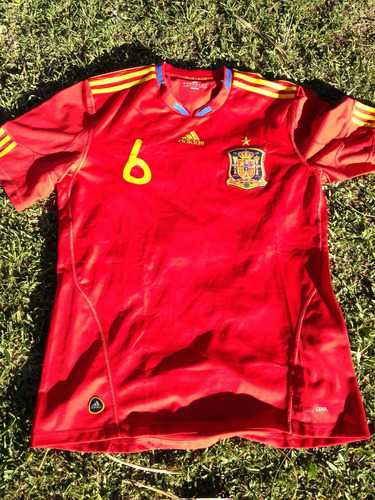 transmitir Impuestos escucho música  Camiseta España 2010 Iniesta Retro adidas Original | Mercado Libre