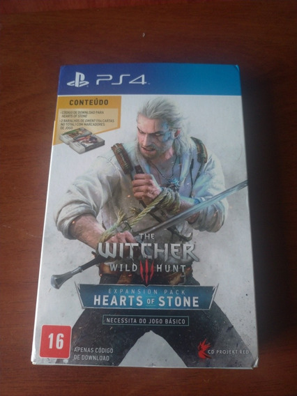 Hearts Of Stone Ps4 - Expansão The Witcher 3 Wild Hunt