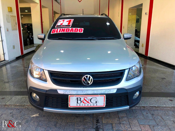 Volkswagen Saveiro 1.6 Cross Ce Blindado - 2011