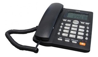 Teléfono Alámbrico Wam As7412-b(w) - Analógica, Desk/wall, N