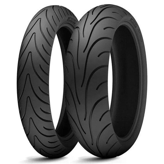 Par Pneu Michelin Pilot Road2 190/50zr17 E 120/70zr17