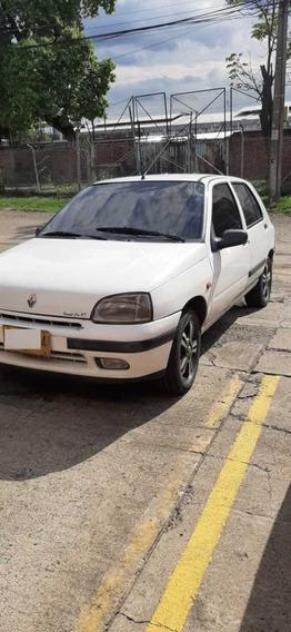 Renaul Clio 1 Motor 1400 Blanco 5 Puertas