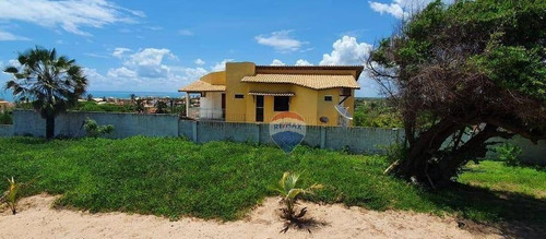 Casa Com 4 Dormitórios À Venda, 260 M²  - Centro - Tibau/rn - Ca0088