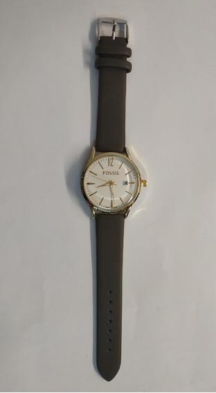 Reloj Análogo Para Dama Café Oscuro