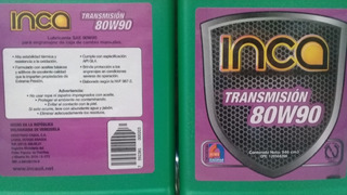 Aceite De Transmision Sincronica 80w-90 Inca