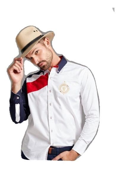 Camisa Muletta Caballero Estilo Nimes