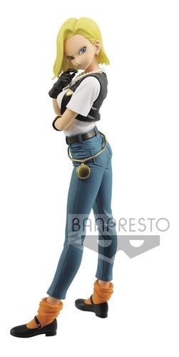 Imagen 1 de 3 de Banpresto Dragon Ball Z Glitter & Glamours Androide 18 Iii