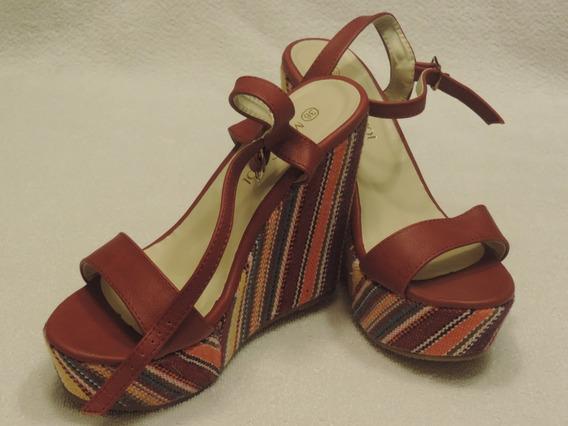 Zapatos Sandalias Plataforma Miss Carol Taco Alto