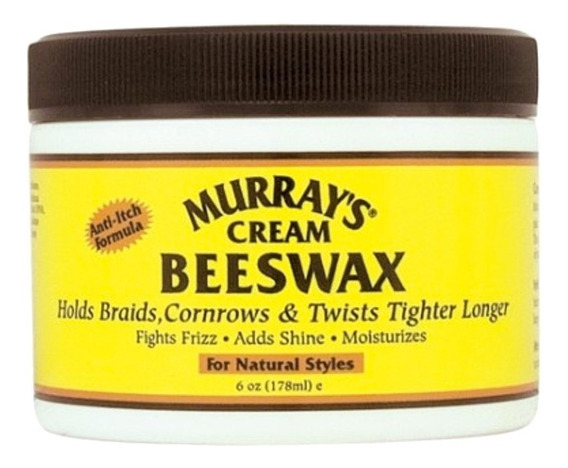 Murrays Cream Beeswax Cera Para Cabello 6oz
