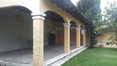 Zavaleta, Casa Con Amplio Jardin En Renta