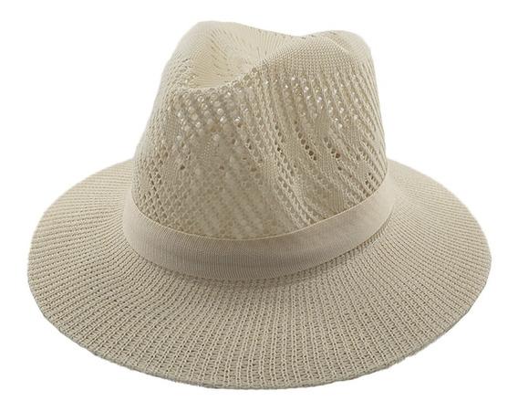 Sombrero Estilo Panamá C/cinta Adultos Unisex Art: 290053