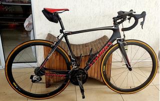 Bicicleta Tarmac S-works Com Potencimetro Srm E Garmin