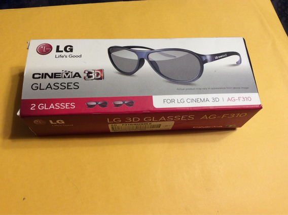 Óculos 3d Lg - Caixa Com 2