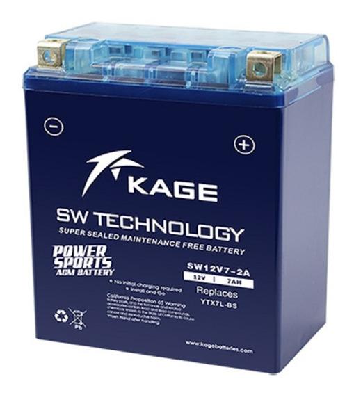 Bateria Para Moto Ytx7l-bs Agm Marca Kaijie Cargo150 Tx200