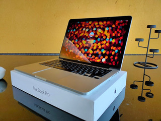 Oferta Macbook Pro Retina Intel-i5 8gb Ram 128ssd $9,999