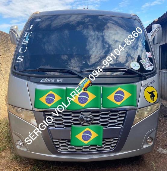 Micro Ônibus Volare W9 Executivo Ano Cor Prata 2014/2014
